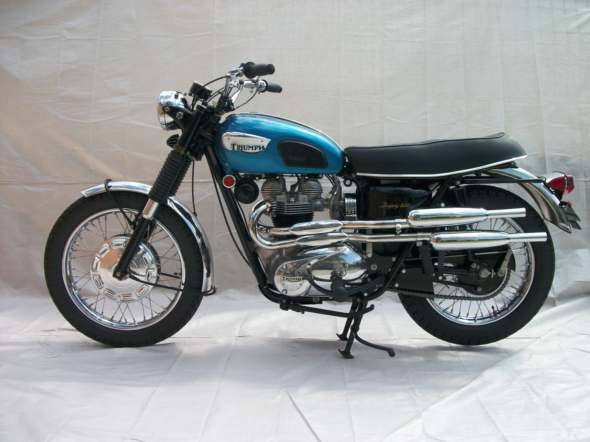 wayne's triumph motorcycles: for sale … two new leroy turner