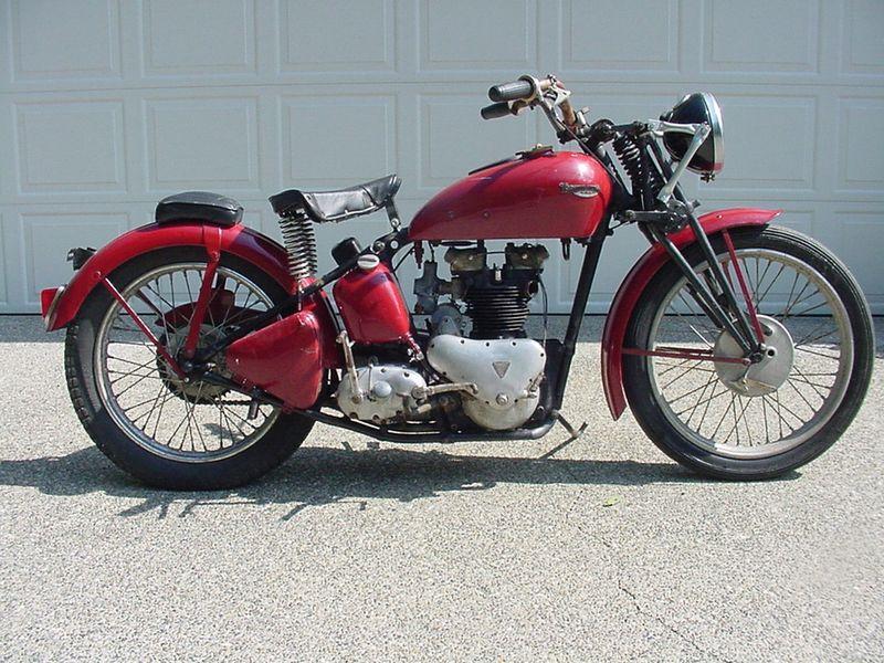 Waynes Triumph Motorcycles Terry Clark Begins Restoration Of