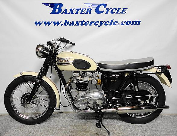 wayne's triumph motorcycles: 1963 triumph bonneville sold and