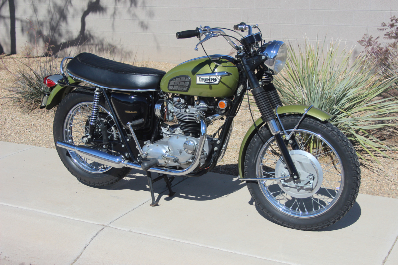 Waynes Triumph Motorcycles For Sale Original 1970 Triumph Tr6r