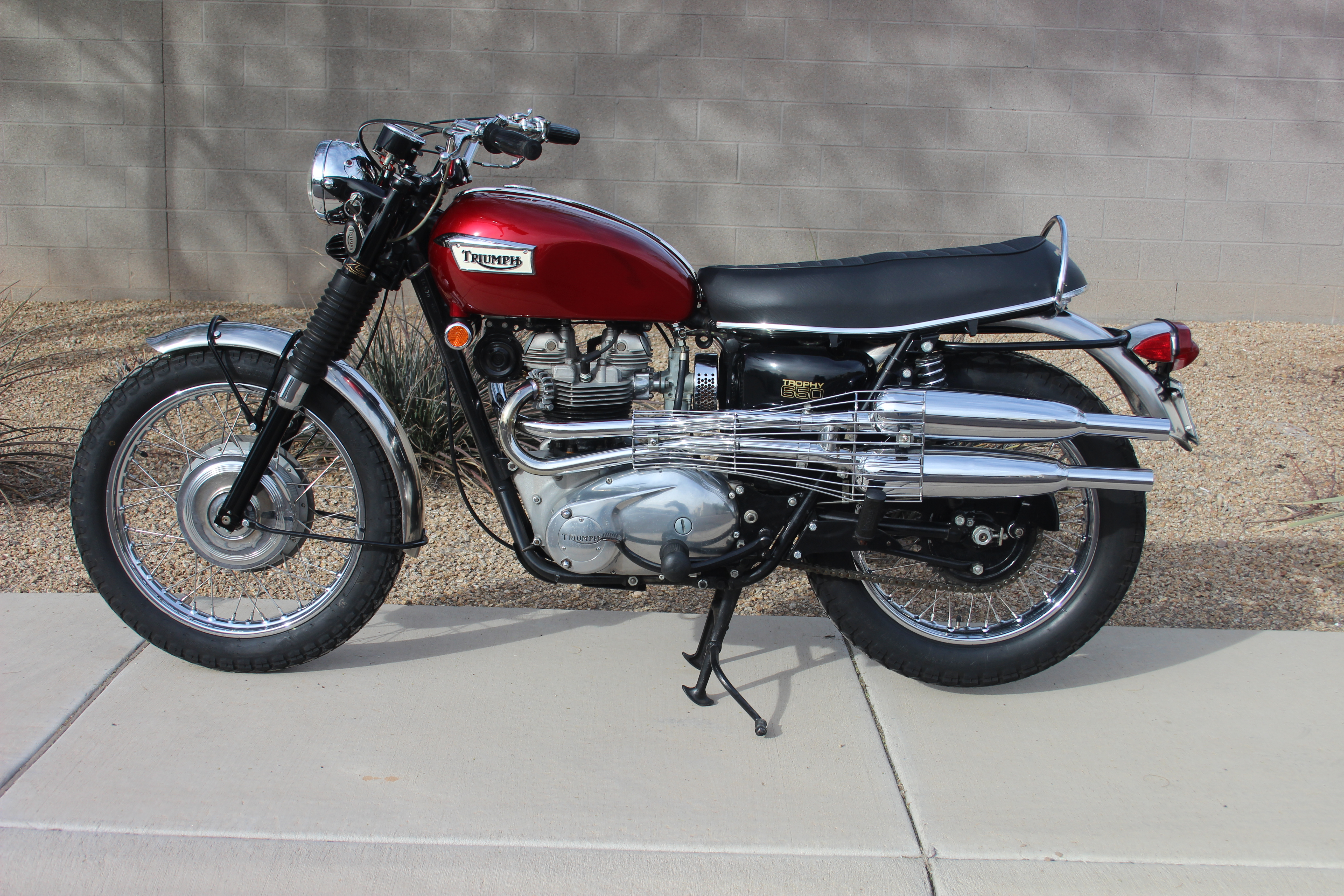 Wayne's Triumph Motorcycles: Sold, going to Michigan... 1969 Triumph